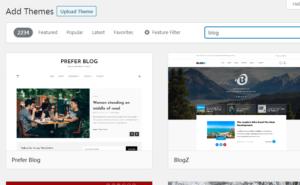blog szablony