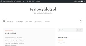 dzialajacy blog