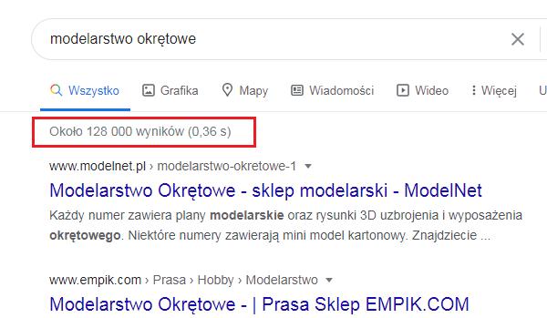 modelarstwo wyniki wyszukiwania