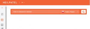 neil pattel keyword tool