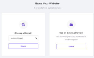 setup hosting